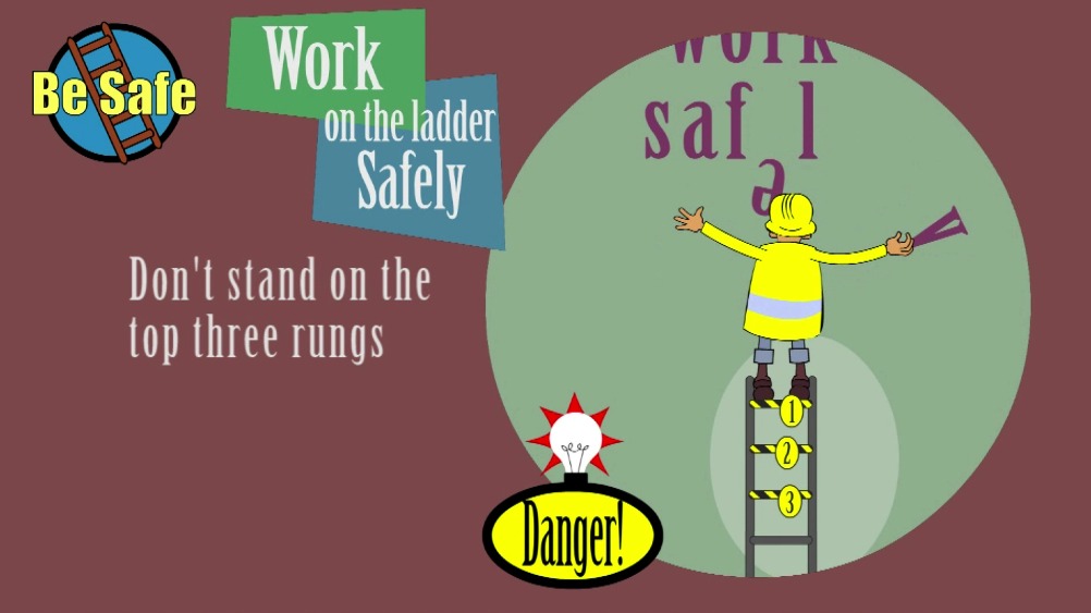 Animated Ladder Safety