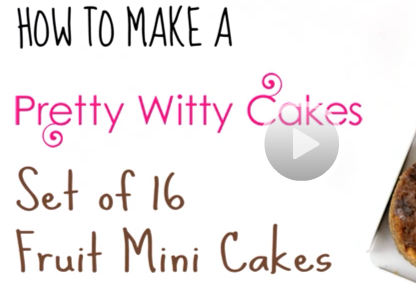 Pretty Witty Cakes Tutorial